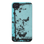 Blue Butterfly iPhone Case iPhone 4 Case