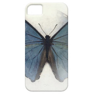 Blue Butterfly iPhone SE/5/5s Case