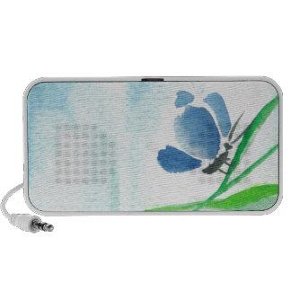 Blue Butterfly iPod Speakers