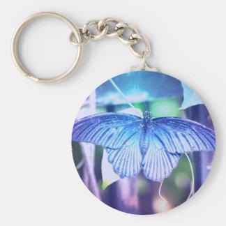 Blue Butterfly Keychain
