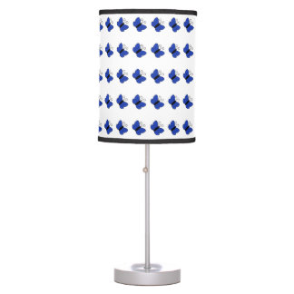 Blue Butterfly Lamp Table Lamps