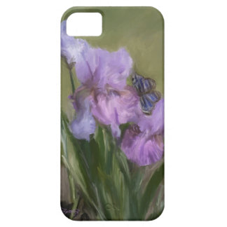 BLUE BUTTERFLY LANDING iPhone SE/5/5s CASE