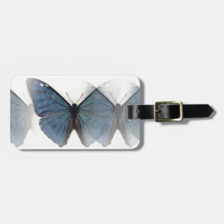 Blue Butterfly Travel Bag Tag