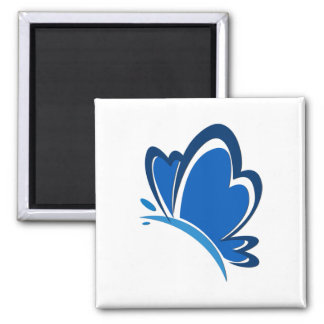 Blue Butterfly Magnet Magnets