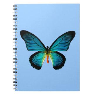 Blue Butterfly Notebook