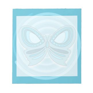 Blue butterfly Notepad