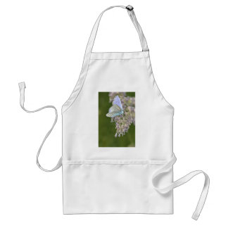 Blue Butterfly on Flower Adult Apron