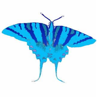 Blue Butterfly Pin Cutout