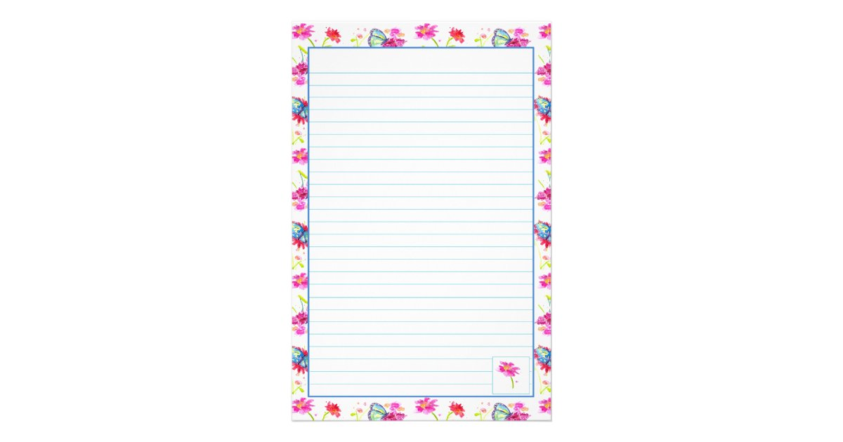 Writing Paper Lined Letter Paper 511157 Letter Writing Paper Lined ...