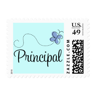 Blue Butterfly Principal Gift Stamps