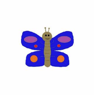 Blue Butterfly sculpture