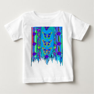 Blue Butterfly Shawl Gifts by Sgarles Shirts