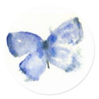 Blue Butterfly Stickers sticker
