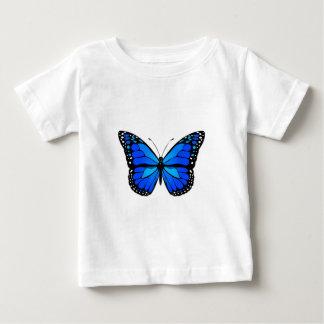 Blue butterfly tee shirt