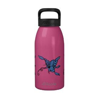 Blue Butterfly Water Bottle
