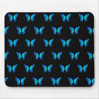 Blue Butterflys by storeman. Mouse Pad