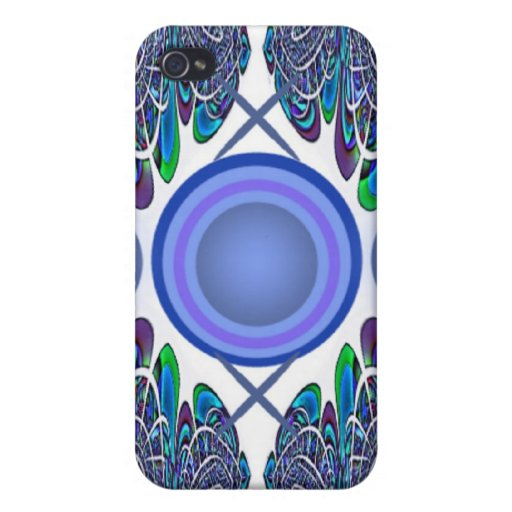 Blue Button Abstract Speck Case iPhone 4/4S Case