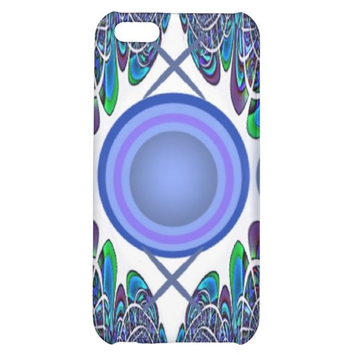 Blue Button Abstract Speck Case iPhone 5C Covers