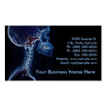 Blue C-spine customizable business card