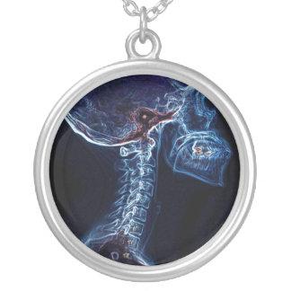 Blue C-spine  necklace