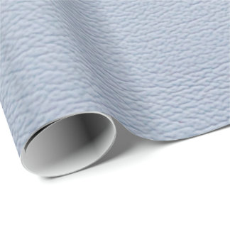 Blue Caddy Look-Like Leather Wrapping Paper