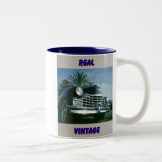 Blue Caddy Two-Tone Coffee Mug