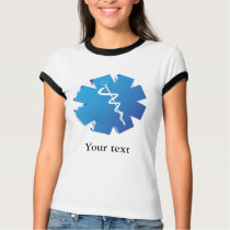 Blue caduceus medical gifts T-Shirt