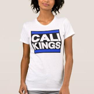 Blue Cali Kings White Women's T-shirt