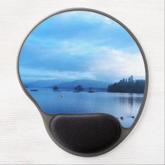 BLUE CALM - LAKE WINDERMERE - UK GEL MOUSEPADS