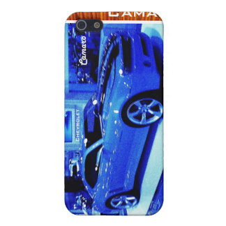 """Blue Camaro"" © 2009 S.J. iPhone SE/5/5s Case"