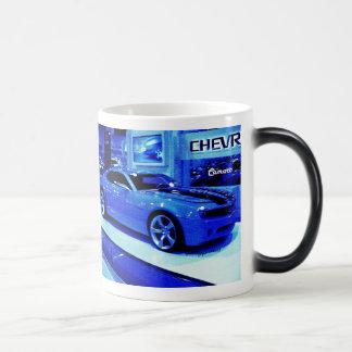 """""""Blue Camaro"""" © 2009 S.J. Magic Mug"""