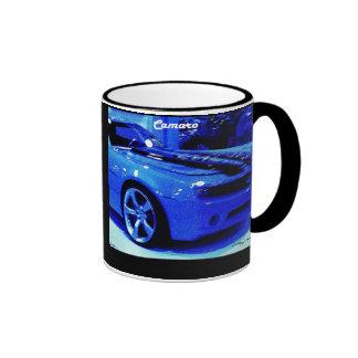 """""""Blue Camaro"""" © 2009 S.J. Ringer Mug"""