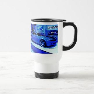 """""""Blue Camaro"""" © 2009 S.J. Travel Mug"""