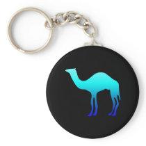 Blue Camel Keychain