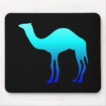 Blue Camel Mouse Pad