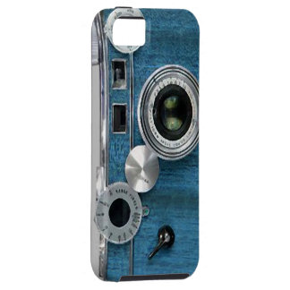 Blue Camera iPhone case