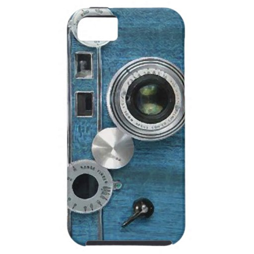 Blue Camera iPhone case iPhone 5 Cases