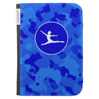 Blue Camo; Camouflage Ballet Cases For The Kindle