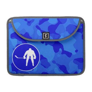 Blue Camo; Camouflage Hockey Sleeve For MacBook Pro