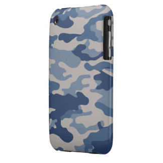 Blue Camo Case-Mate iPhone 3G/3GS Case-Mate iPhone 3 Case
