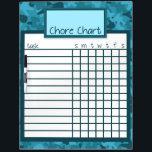 """Blue Camo Chore Chart Dry Erase Board<br><div class=""""desc"""">Blue Camo Chore Chart Dry Erase Board</div>"""