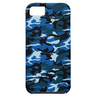 BLUE CAMO iPhone SE/5/5s CASE