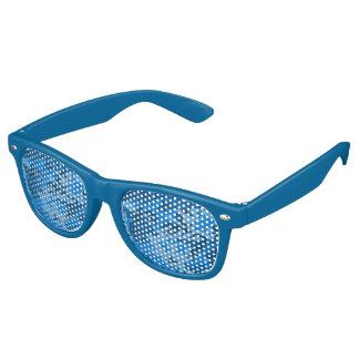 Blue Camo Lens Sunglasses/ Shades