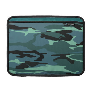 Blue Camo MacBook Sleeve