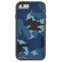 Blue Camo Military Camouflage Xtreme iPhone 6 6S Tough Xtreme iPhone 6 Case