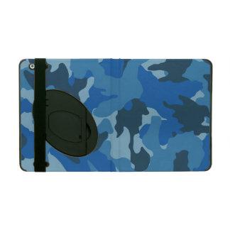 Blue Camo Military Custom Powis iCase iPad Cases iPad Covers