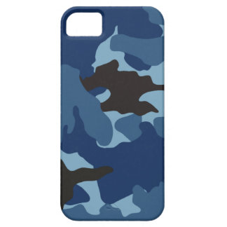 Blue Camo Military iPhone 5 Barely There Cases iPhone 5 Case