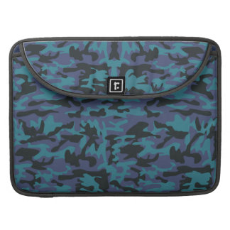 Blue camo pattern sleeve for MacBooks