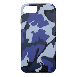 Blue Camo, Tough iPhone 7 Case