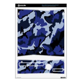 Blue Camo, Xbox 360 S Console (2010) Skins Xbox 360 S Decal